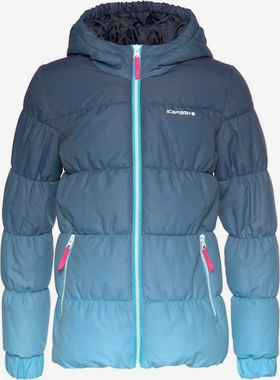 ICEPEAK Steppjacke 'KIANA' in blau / türkis, Produktansicht