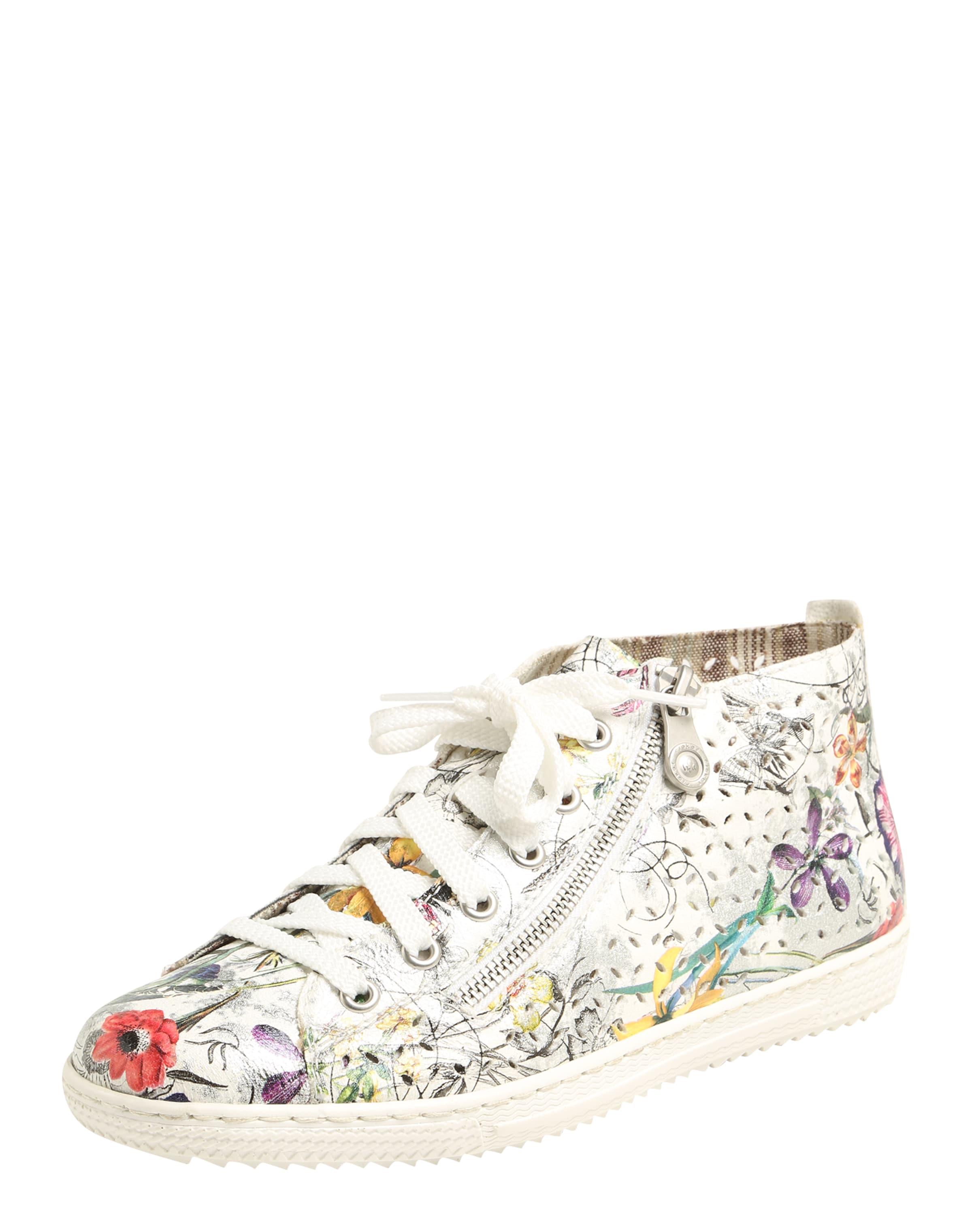 RIEKER Sneaker mit floralem Print