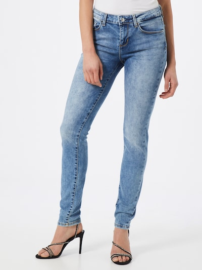 GUESS Jeans 'Annette' in blue denim, Modelansicht
