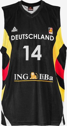 PEAK Single Jersey Dirk Nowitzki Germany 2015 in schwarz, Produktansicht
