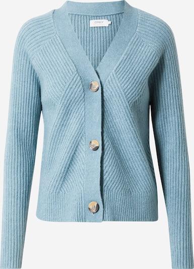 ONLY Gebreid vest 'Carol' in de kleur Pastelblauw, Productweergave