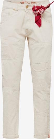 JACK & JONES Jeans 'JJIFRANK JJLEEN BL 863' in white denim, Produktansicht