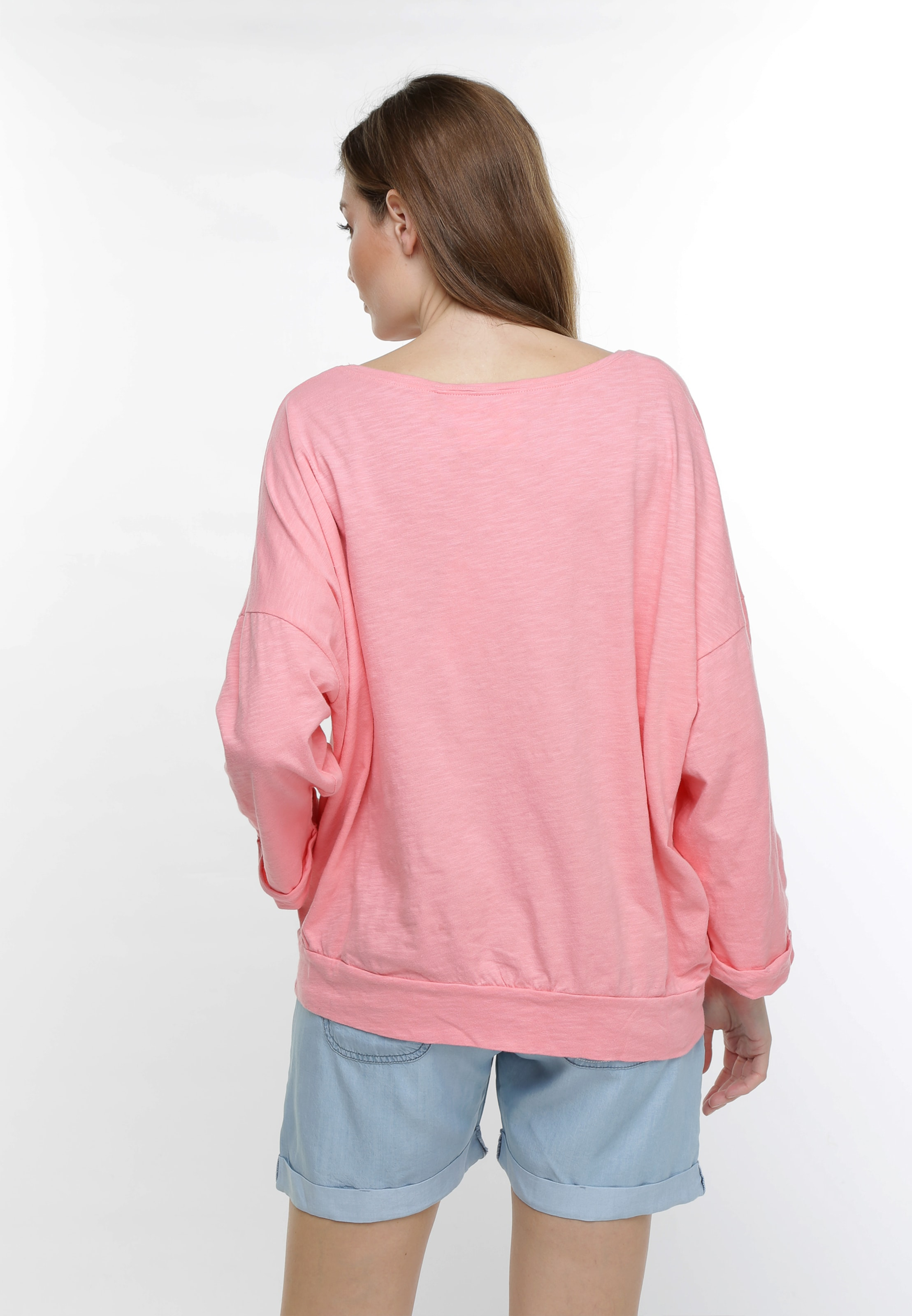 Gwynedds 'pom Shirt' The In Pinkmeliert Shirt sQtxrChd