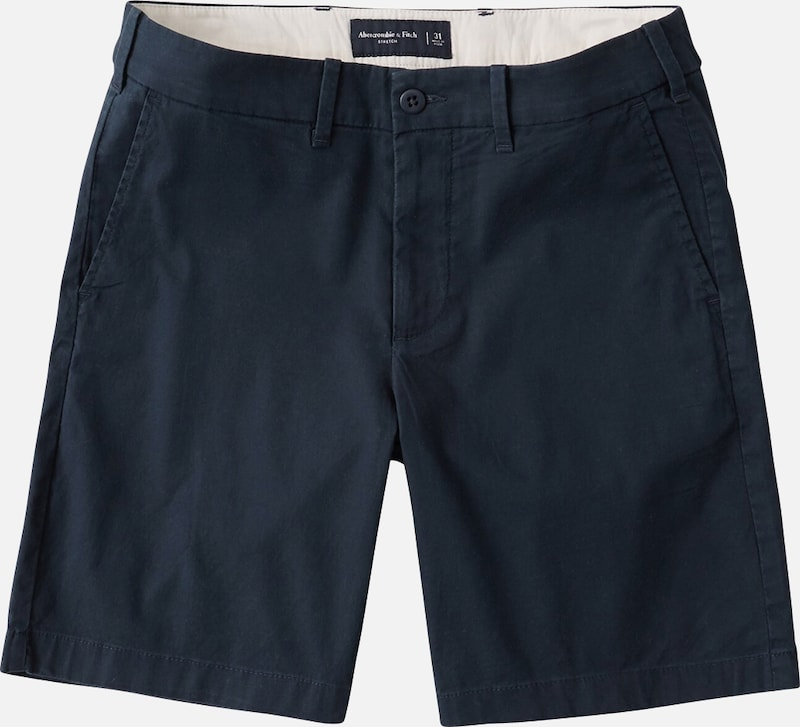 Abercrombie & Fitch Shorts in navy, Produktansicht