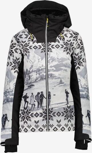 CMP Jacke in grau / schwarz / weiß, Produktansicht