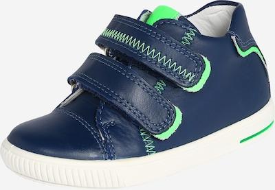 SUPERFIT Schuhe 'MOPPY' in dunkelblau / neongrün, Produktansicht