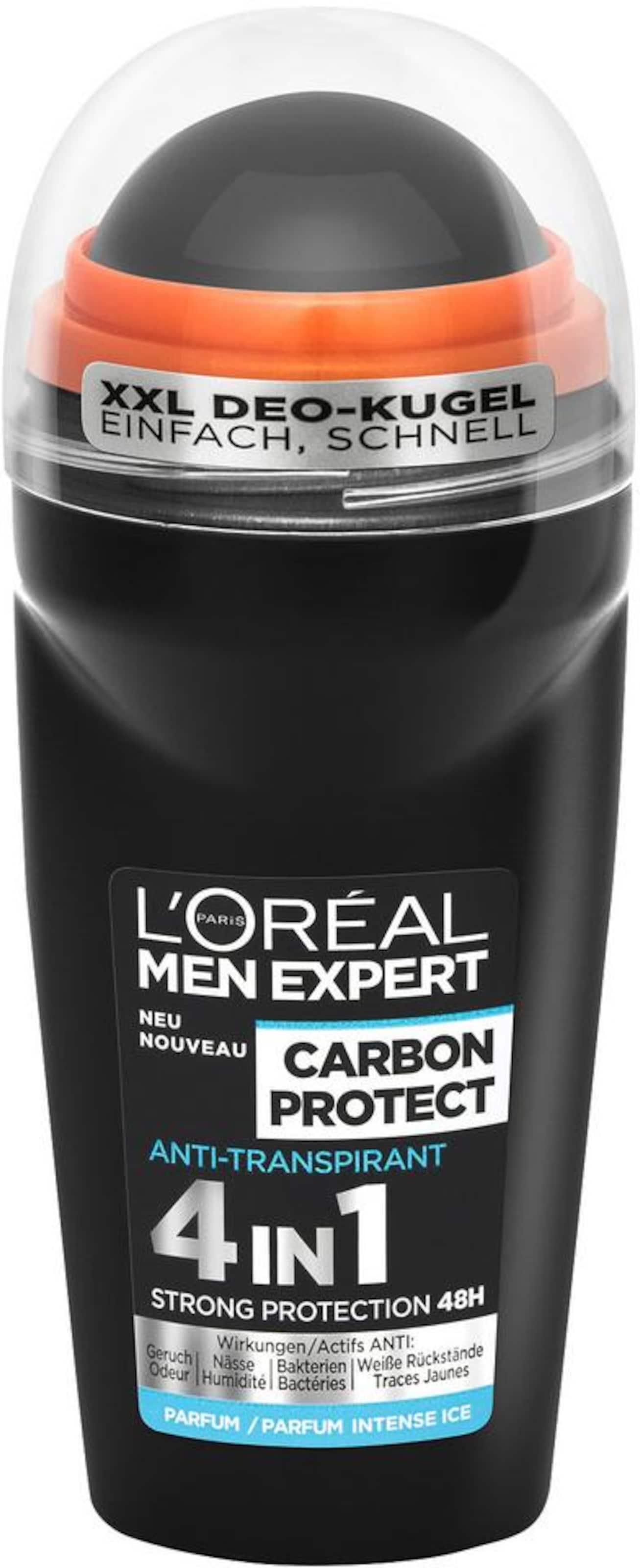 Clean' L'oréal Men Paris Expert In Körperpflege 'carbon set Schwarz Protectamp; cFuT1JK5l3