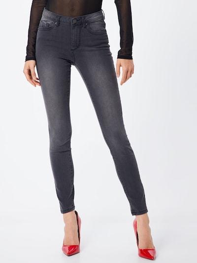 VERO MODA Jeans 'Tanya' i mørkegrå, Modelvisning