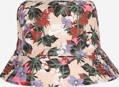 Nike Sportswear Chapeaux 'Paradise' en beige / mélange de couleurs, Vue avec produit