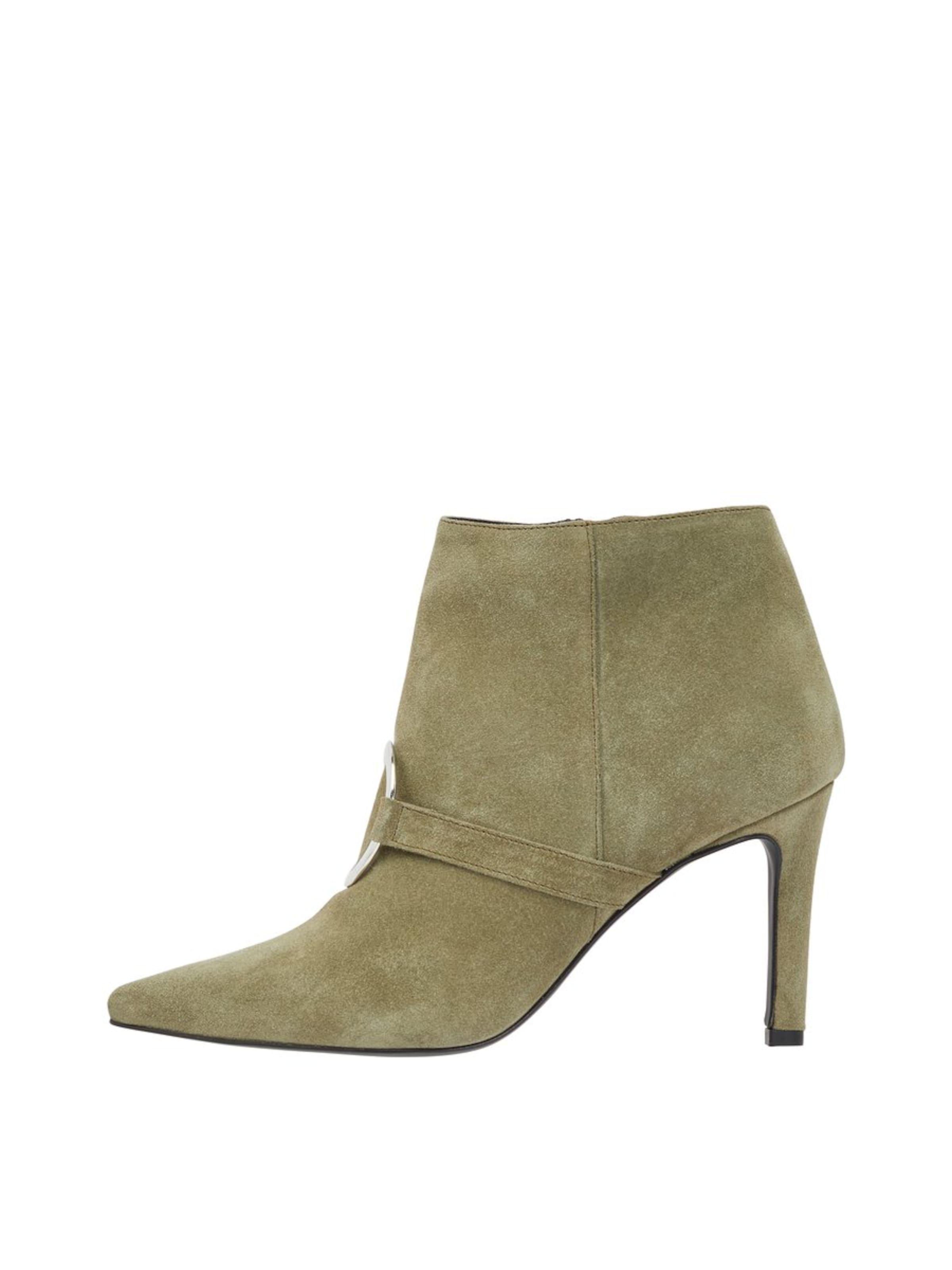 Bianco In Khaki Boots 'alvira' Ankle 4A3RqL5jcS