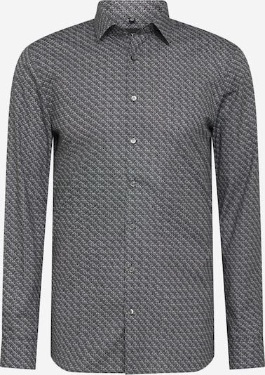 OLYMP Риза в светлосиво / тъмносиво, Преглед на продукта