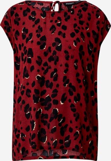 SOAKED IN LUXURY Shirt 'Zaya' in burgunder / schwarz, Produktansicht