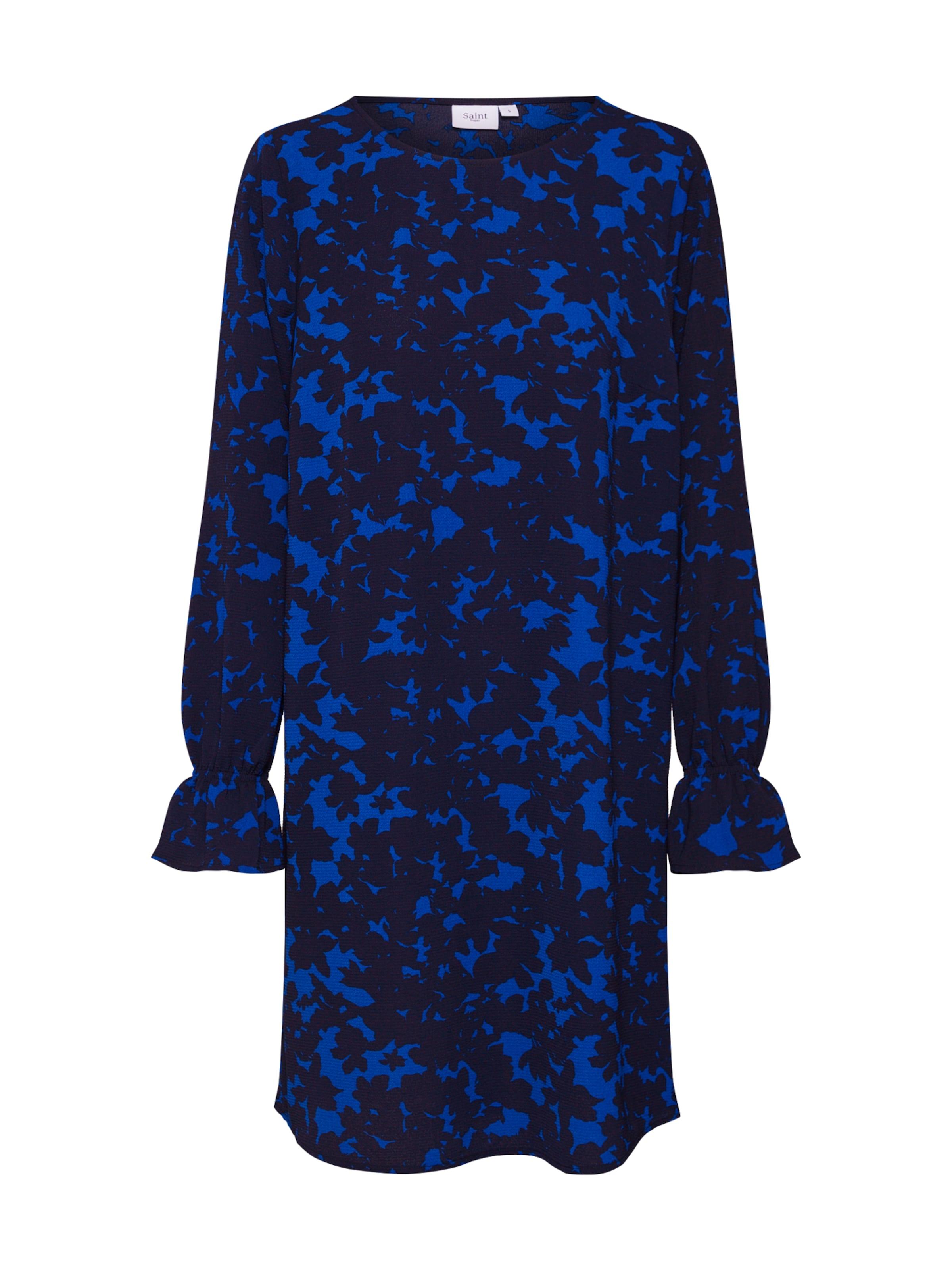 Tropez Kleider Saint 'xray In Florals KobaltblauSchwarz P' redCxBo