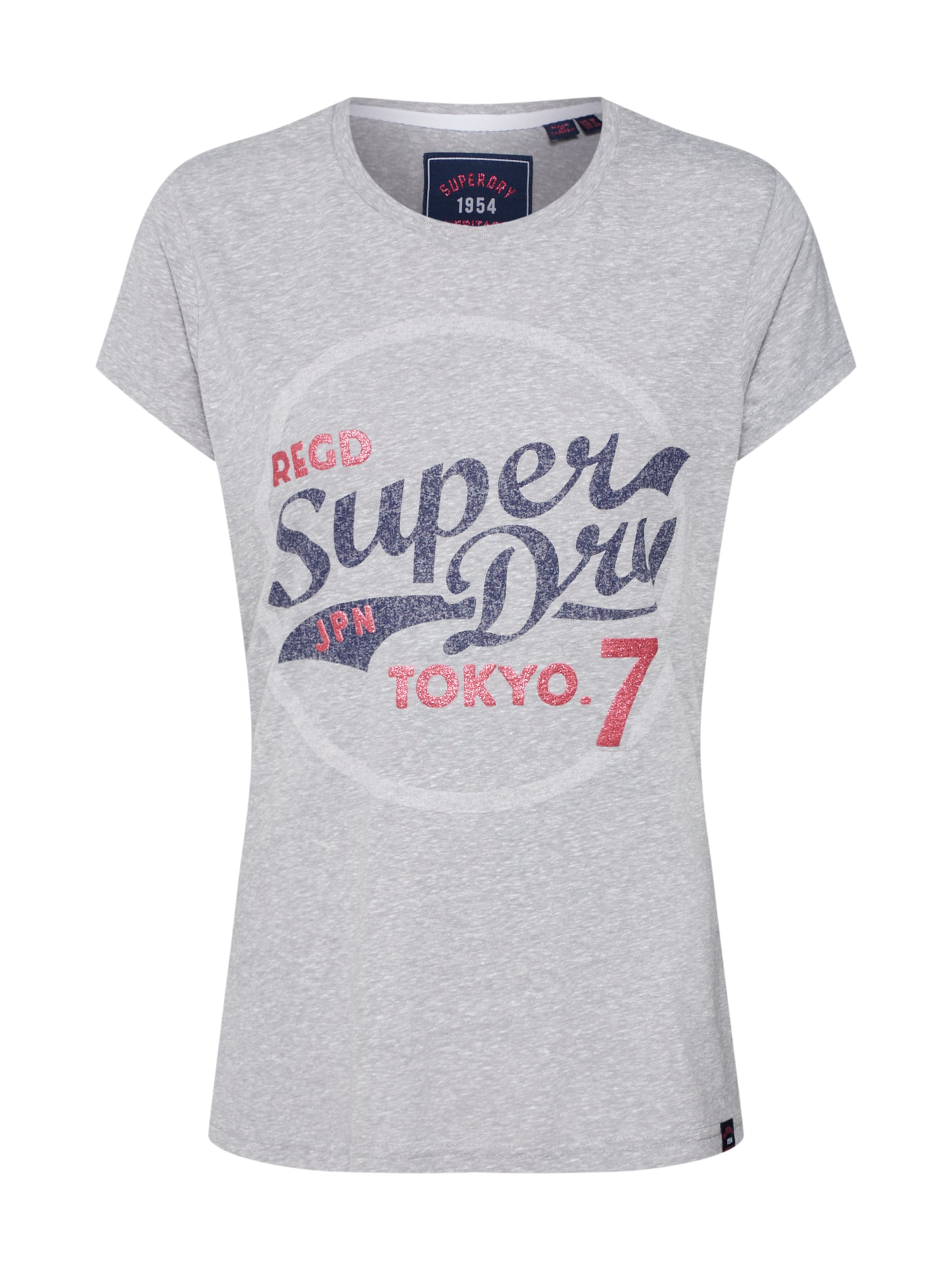 SuperdryT shirt Rouge BleuGris Clair In SpLUzGqMV