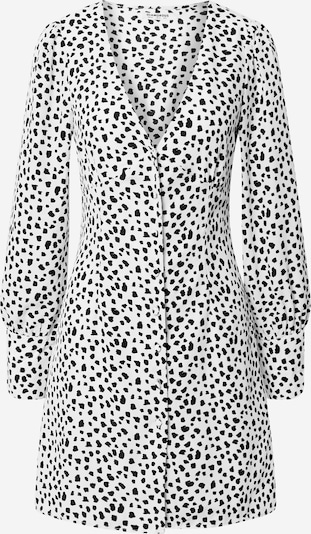 GLAMOROUS Jurk in de kleur Zwart / Wit, Productweergave