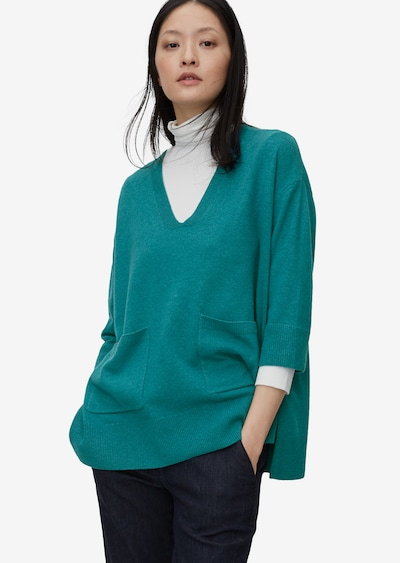 Marc O'Polo Pure Pullover in petrol, Modelansicht