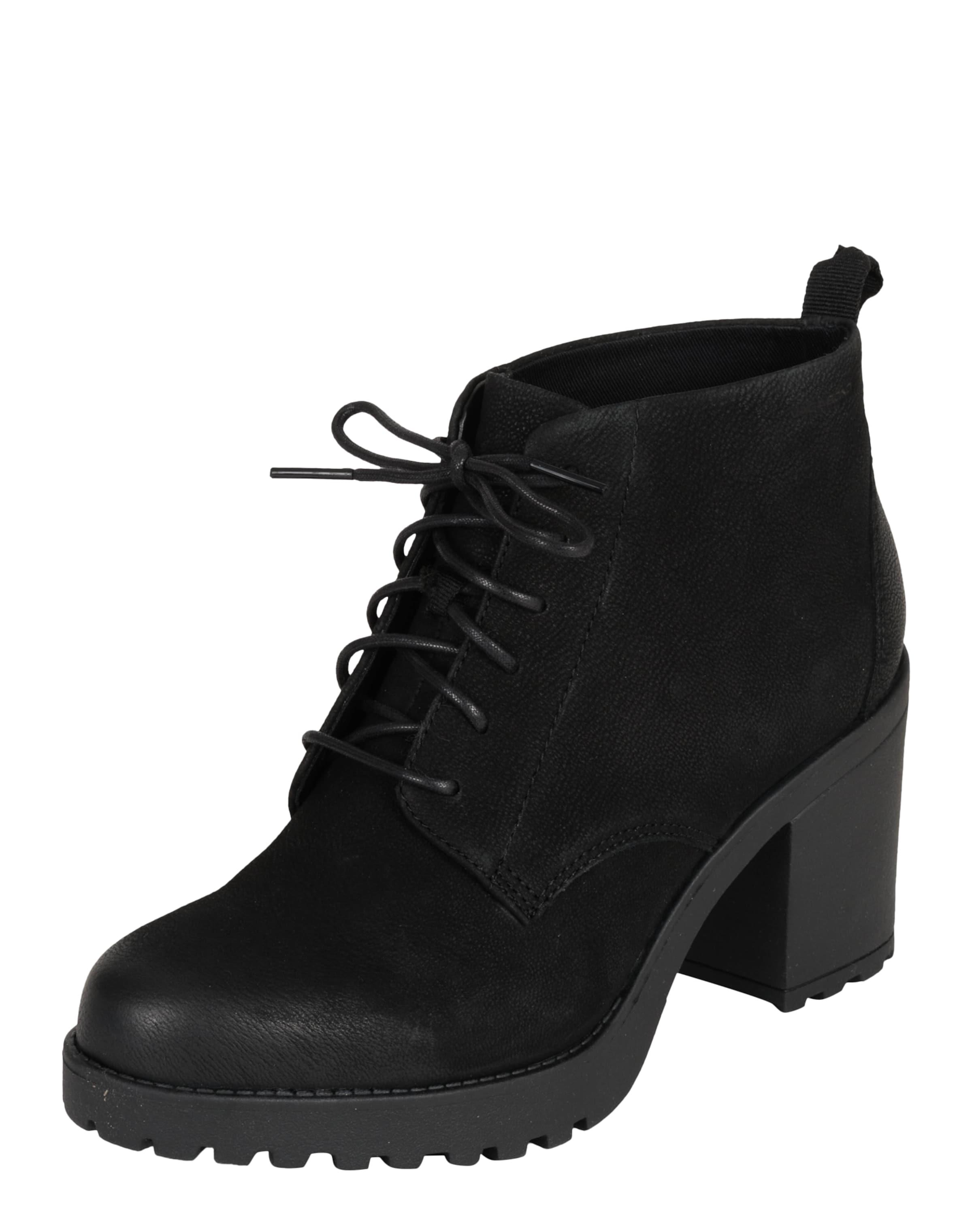 Bottines 'grace' Noir À Lacets Vagabond En Shoemakers K1J3cFlT