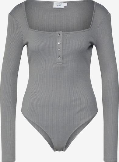 NA-KD Tričko 'NA-KD x Pamela Reif' - tmavě šedá, Produkt