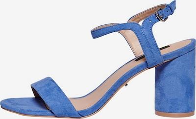 Basutės su dirželiais iš ONLY , spalva - mėlyna, Prekių apžvalga