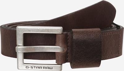 G-Star RAW Gürtel 'Duko' in dunkelbraun, Produktansicht
