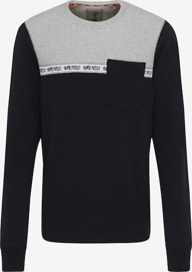 HOMEBASE Sweatshirt in grau / schwarz, Produktansicht