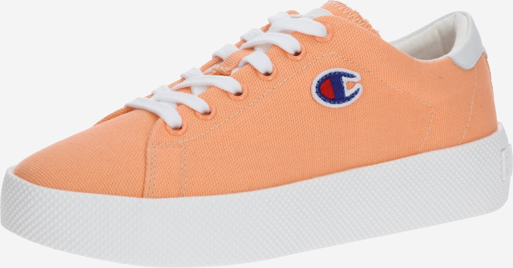 Champion Authentic Athletic Apparel Sneakers laag in de kleur Lichtoranje / Wit, Productweergave