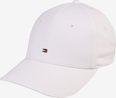 TOMMY HILFIGER Basecap 'CLASSIC' in weiß: Frontalansicht