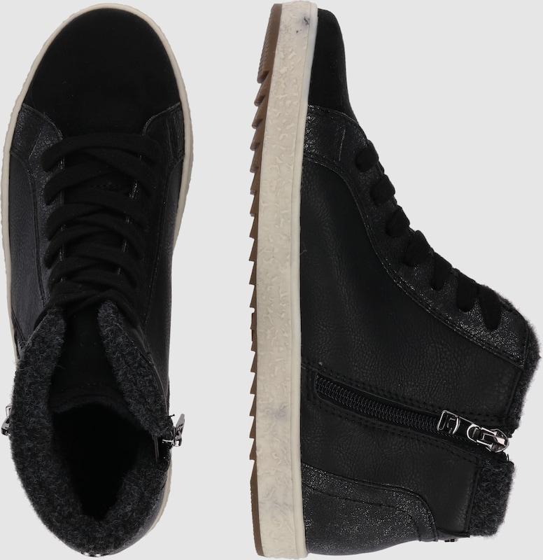 TOM seitlichem TAILOR Sneaker High mit seitlichem TOM Reißverschluss 1cdb36