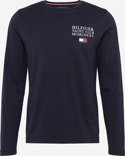TOMMY HILFIGER T-Shirt 'YACHT CLUB LONG SLEEVE TEE' en bleu foncé, Vue avec produit
