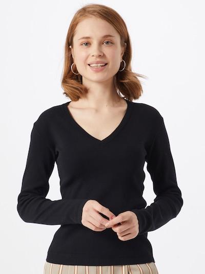UNITED COLORS OF BENETTON Trui in de kleur Zwart, Modelweergave