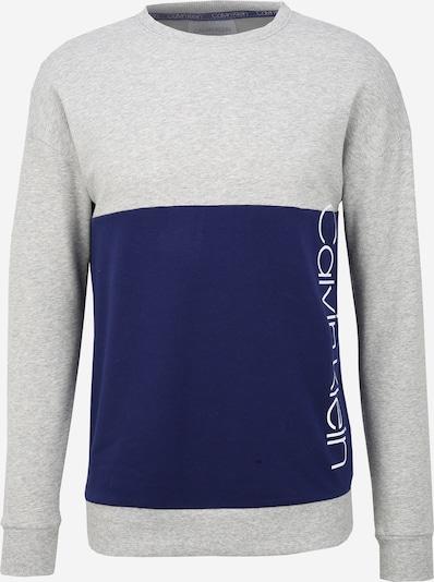 Calvin Klein Sweatshirt in de kleur Blauw / Grijs, Productweergave