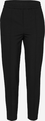 Filippa K Trousers with creases 'Fiona Peg' in Black