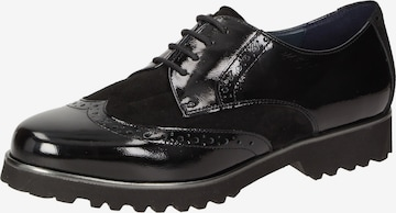 SIOUX Lace-Up Shoes ' Meredith-703-XL ' in Black