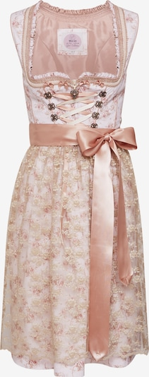MARJO Dirndl 'Nakissa' w kolorze beżowy / różowy pudrowym, Podgląd produktu