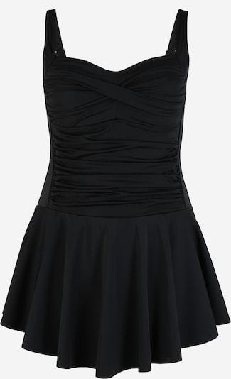 Swim by Zizzi Plavkové šaty 'STAYLOR' - čierna, Produkt