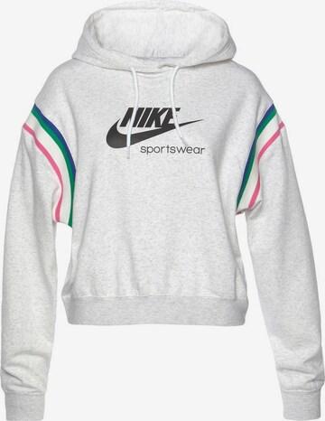 Nike Sportswear Sweatshirt 'Heritage Women's Pullover Hoodie' in White