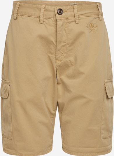 Herrlicher Shorts 'Iver Cargo Short Gabardine' in khaki, Produktansicht