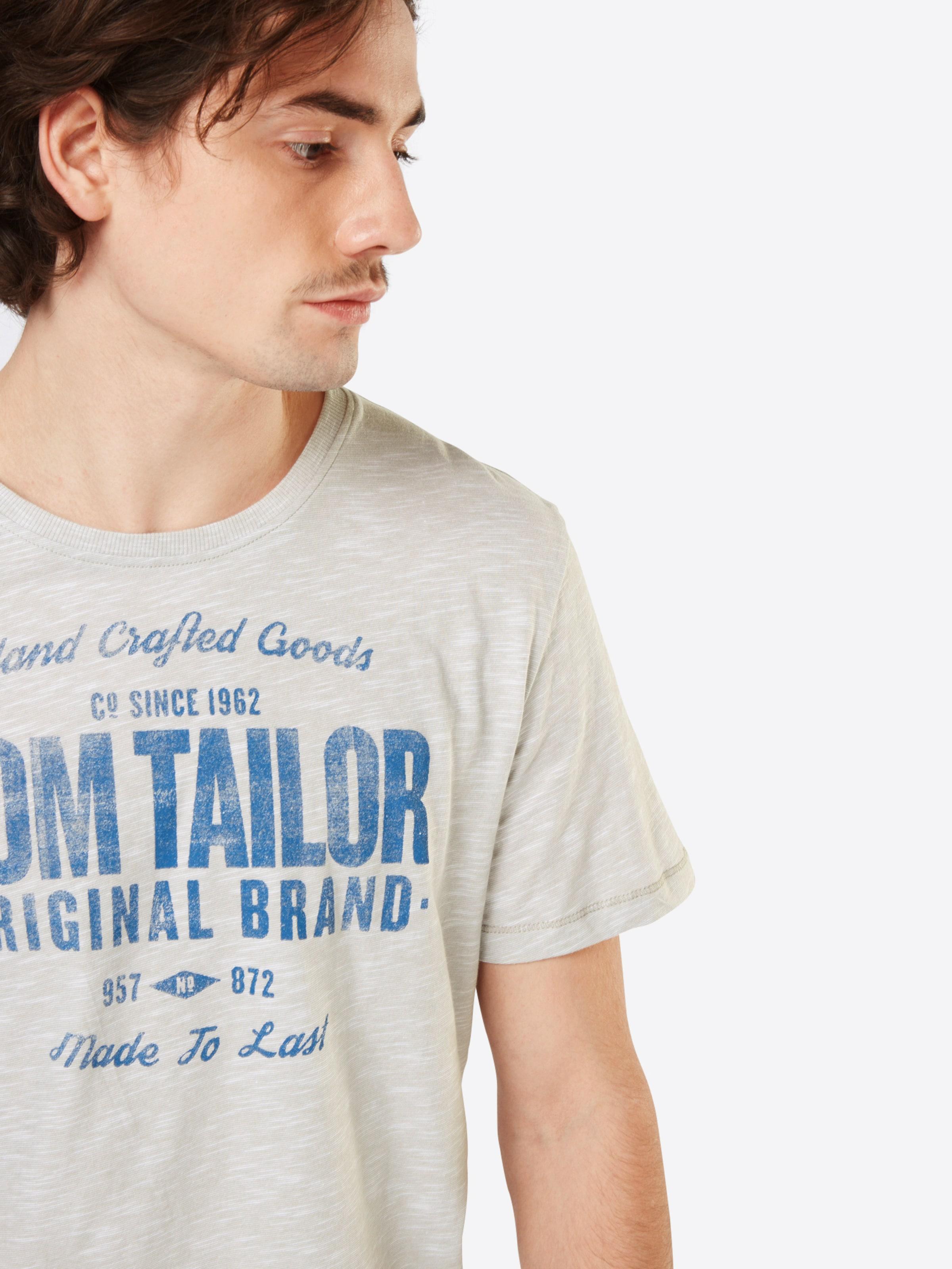 Aus Deutschland Günstig Online TOM TAILOR T-Shirt in Flammgarn-Optik Freies Verschiffen Schnelle Lieferung Freies Verschiffen Ebay ranDS4