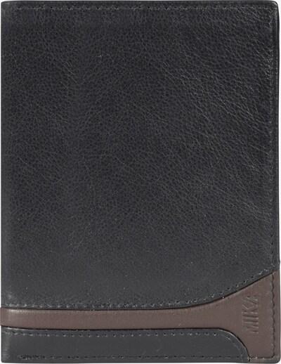 MIKA Geldbörse in braun / schwarz, Produktansicht