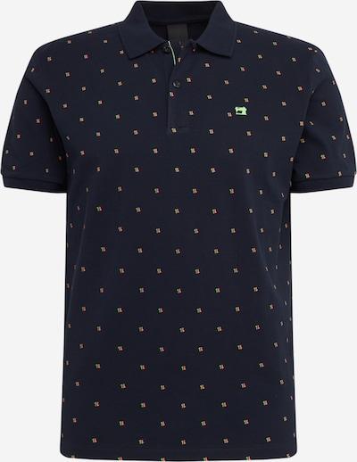 SCOTCH & SODA Poloshirt 'Classic pique polo with mini all-over pr' in dunkelblau, Produktansicht