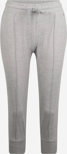 GAP Nohavice 'BRUSHED JERSEY FRONT SEAM CROP JOGGER' - sivá, Produkt