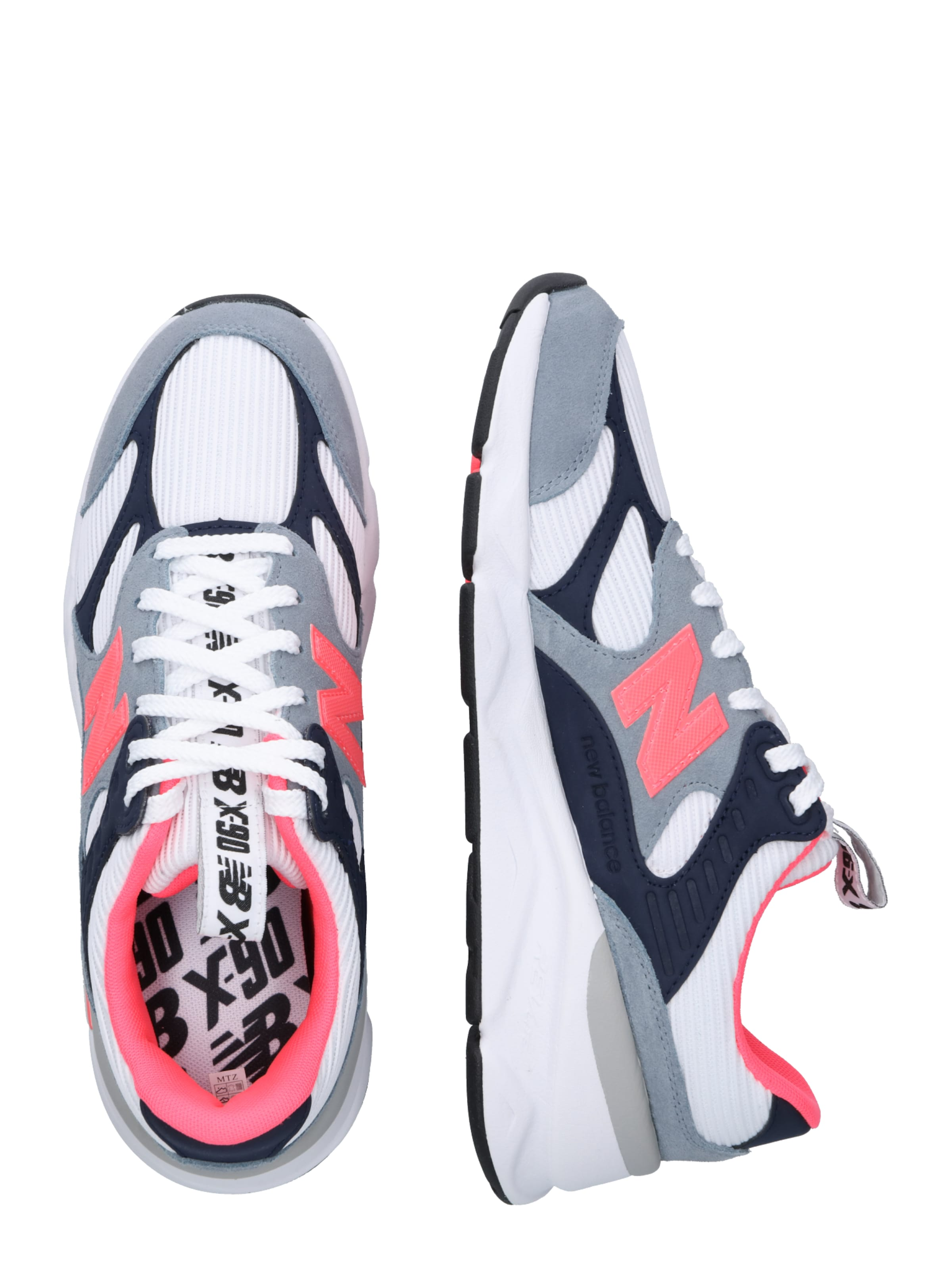 New In Sneaker 'msx90' Weiß GrauPink Balance NOPyn0w8vm