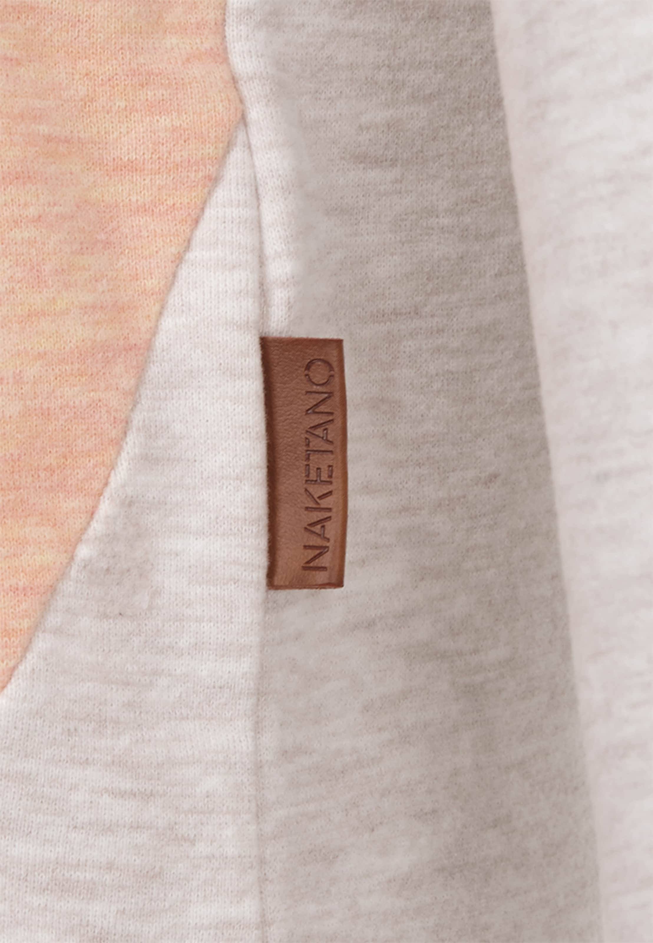 In Sweatshirt BeigeOrange Naketano Naketano Pastellorange R54jAqL3