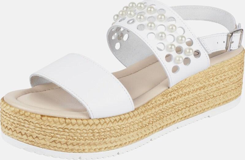 heine Sandalette mit Perlen