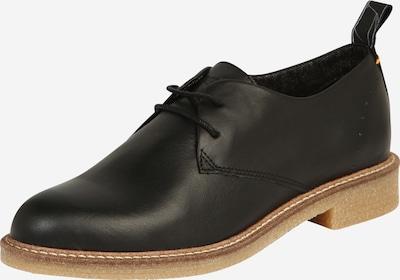 Pantofi cu șireturi 'Braga' HUB pe negru, Vizualizare produs