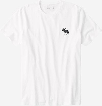 Abercrombie & Fitch Koszulka 'Exploded' w kolorze białym: Widok z przodu
