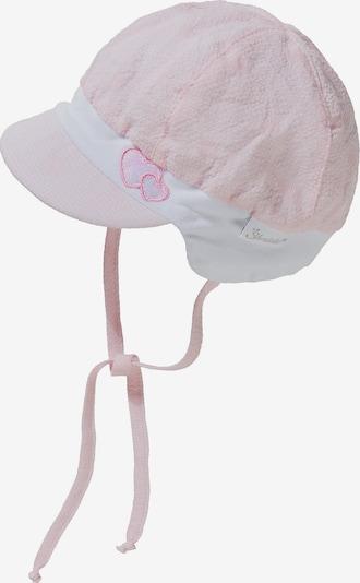 STERNTALER Ballonmütze in rosa / dunkelpink / silber / weiß, Produktansicht
