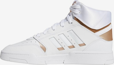 ADIDAS ORIGINALS Sneaker 'Drop Step W' in gold / weiß, Produktansicht