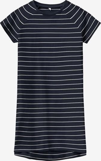 NAME IT Kleid 'Vamaja' in nachtblau / weiß, Produktansicht