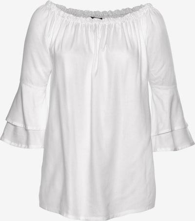 LASCANA Bluse in weiß, Produktansicht